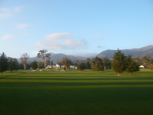 View from 15th hole  Dec 7, 2008