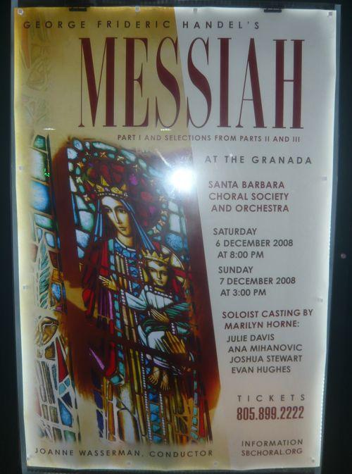 Messiah poster Dec 4, 2008