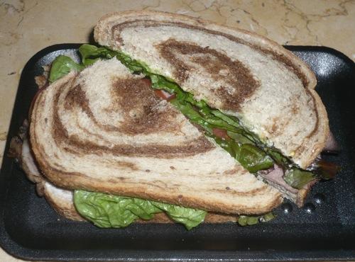 Corned beef sandwich Dec 6, 2008