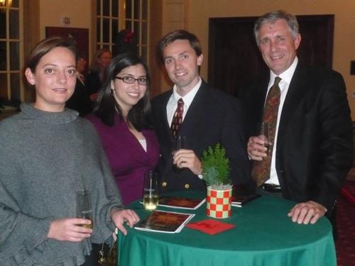 Scott, Amanda, Katherine and yours truly Dec 6, 2008