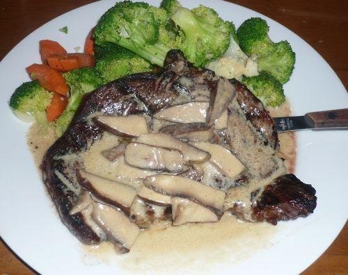 Steak at Dargan's Dec 4, 2008