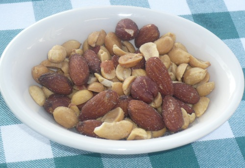 Nuts at lunch Dec 3 2008