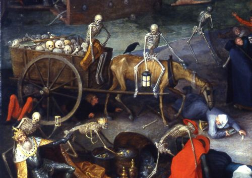 Detail from Pieter Bruegel's The Triumph of Death