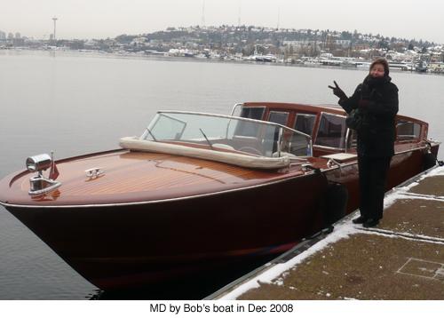 Boat in winter blog