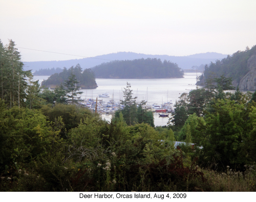 Deer Harbor, Orcas Island blog