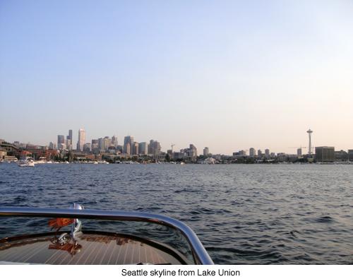 Seattle skyline blog