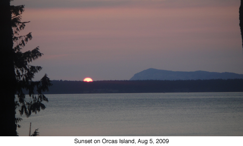 Suset on Orcas blog