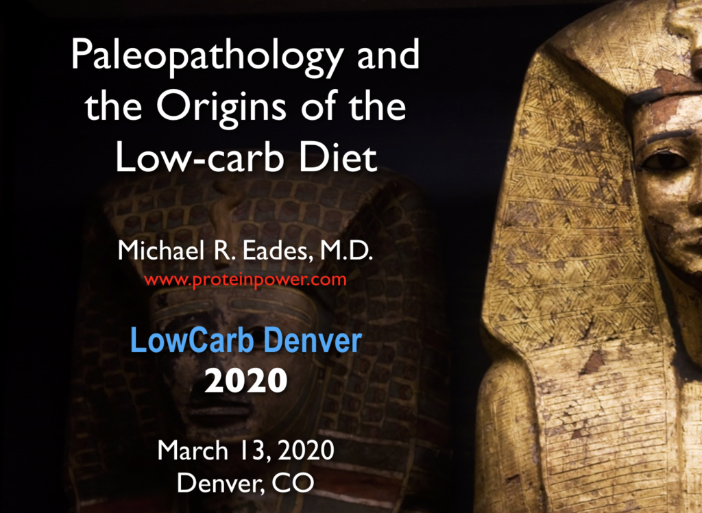 Paleopath talk at Low Carb Denver 2020